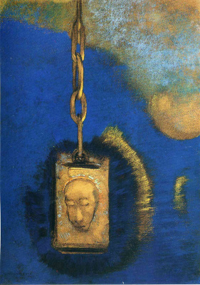 Odilon Redon. Lighthouse