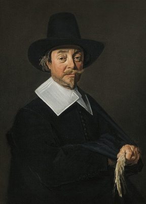 Франс Хальс. Портрет стоящего мужчины