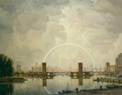 Konstantin Fedorovich Bogaevsky. The city of the future