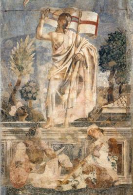 Андреа дель Кастаньо. Воскресение