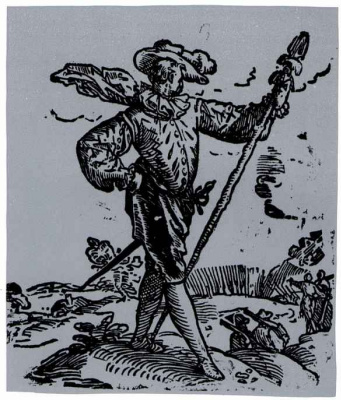 Хендрик Гольциус. Воин с пикой