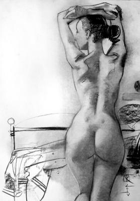 Виталий Викторович Котенджи. Nude from the back
