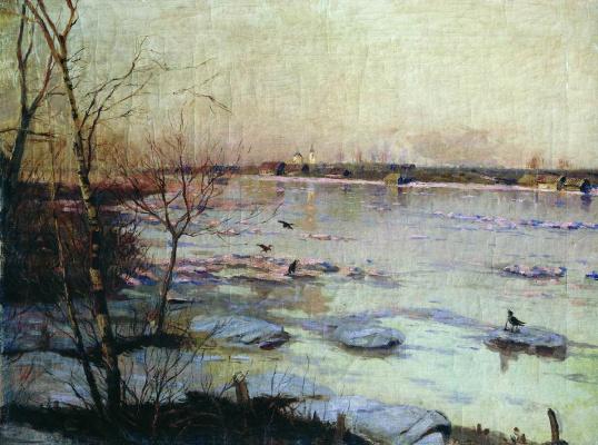 Sergey Ivanovich Svetoslavsky. High water. 1902