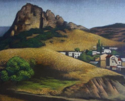 Екатерина Ивановна Киселева. Mountain village