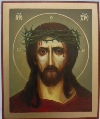 Sergey Pavlovich Kolko. Christ in crown of thorns