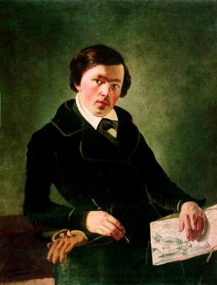 Яков Федорович Капков. Автопортрет
