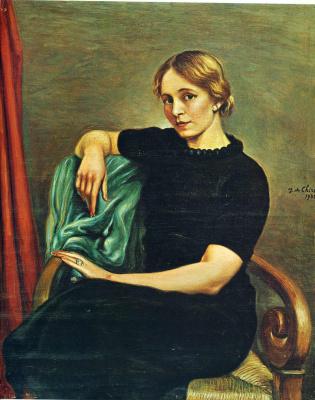 Giorgio de Chirico. Woman in black