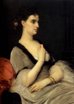 Alexandre Cabanel. Portrait of Countess Vorontsova
