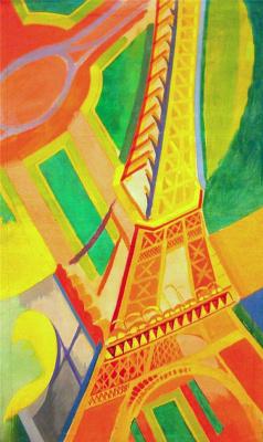 Robert Delaunay. Eiffel Tower