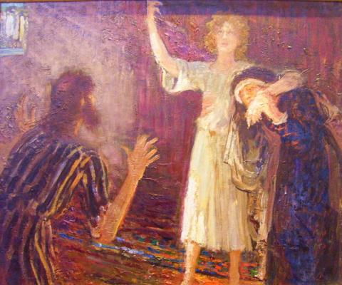 Ilya Efimovich Repin. Christ in the Temple