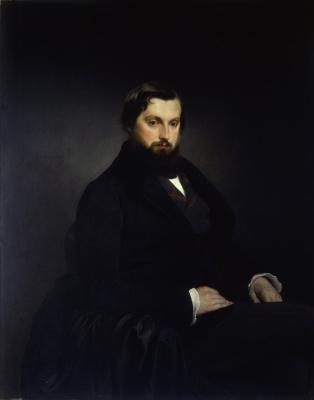Франческо Айец. Портрет Джан Джакомо Полди Пеццоли. 1851