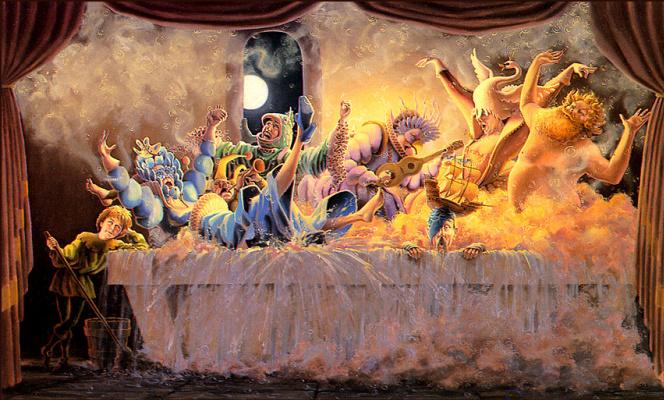 Дон Вуд. Танцы