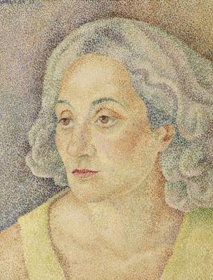 Maria Bronislavovna Marevna (Vorobyeva-Stebelskaya). A self-portrait. 1931