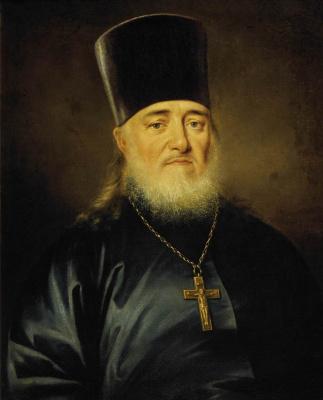 Dmitry Grigorievich Levitsky. Portrait of priest Peter Levitsky