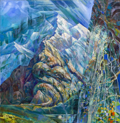 Rinat Salimzyanovich Khanafeev. Sleeping snake mountain