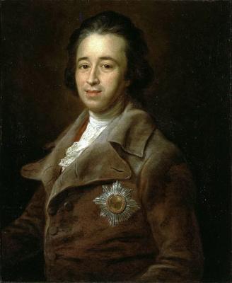 Pompeo Batoni. Portrait of Prince Kurakin