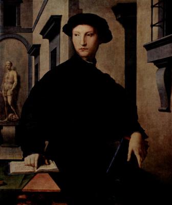 Agnolo Bronzino. Portrait of Ugolino Martelli