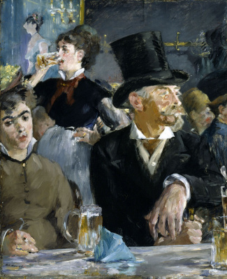 Edouard Manet. At the concert in the cafe