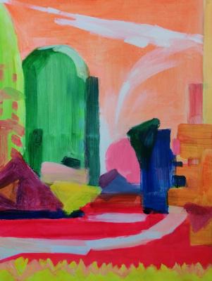 """Nikolay Nikolayevich Aksenov. """"Landscape - 20"""""""