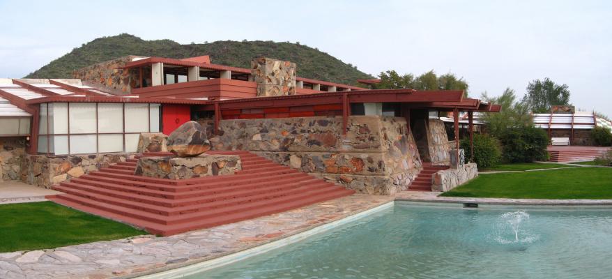 Frank Lloyd Wright. Taliesin Arizona Residence