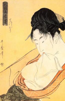 Kitagawa Utamaro. Courtesan