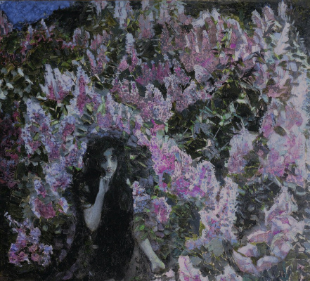 Mikhail Vrubel. Lilac