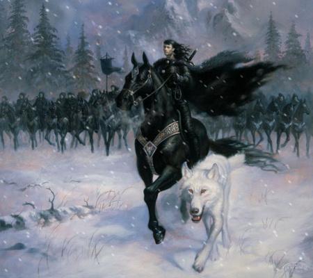 Джеан Пиерр Таргет. Черный конь и белый волк