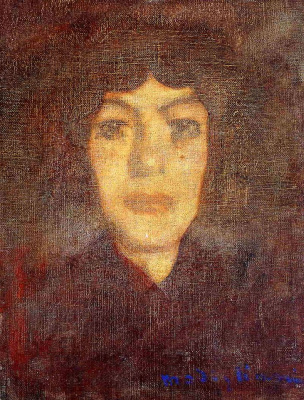 Amedeo Modigliani. Portrait of a woman