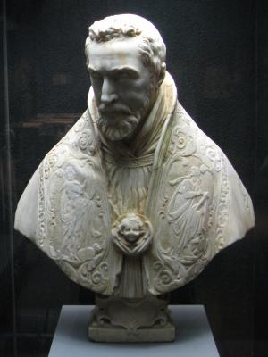 Gian Lorenzo Bernini. Cardinal françois de Sourdis