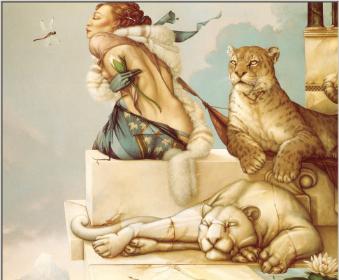 Michael Parkes. Virgin