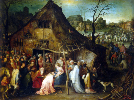 Jan Bruegel The Elder. The adoration of the Magi