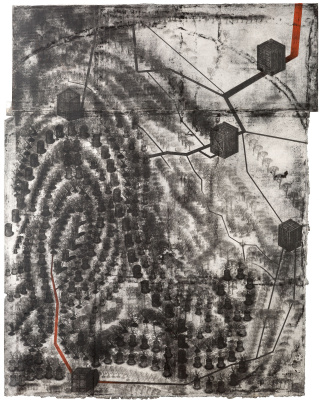 "Pavel Nikolayevich Makov. Touch #2 (""Touch #2 - a series of ""Fingerprints"")"