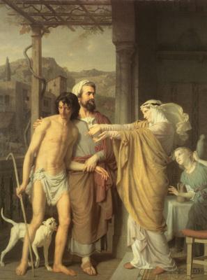 Charles Gleir. The return of the prodigal son