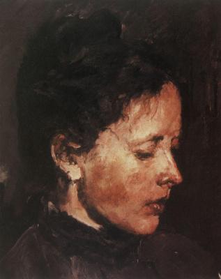Valentin Aleksandrovich Serov. Portrait Of O. F. Serova