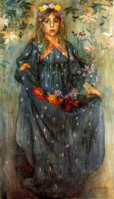 Ловис Коринт. Осенние цветы