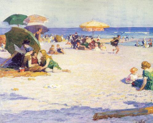 Эдвард Генри Поттаст. Пляж