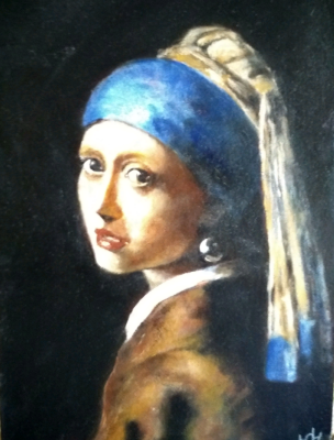 Yuri Valeryevich Churilov. Girl with a Pearl Earring
