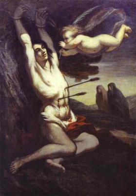 Honore Daumier. Arrows