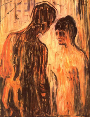 Edward Munch. Cupid and Psyche