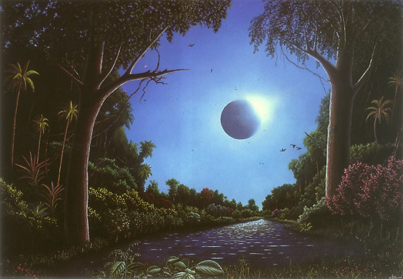 Стефан Бласер. Лунный свет