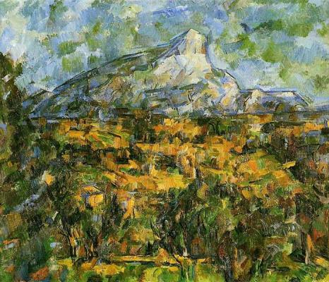 Paul Cezanne. Landscape in Aix. Mont Sainte-Victoire
