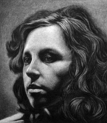 Nikolai Nikolayevich Sednin. Portrait Of Olga Alcinoe