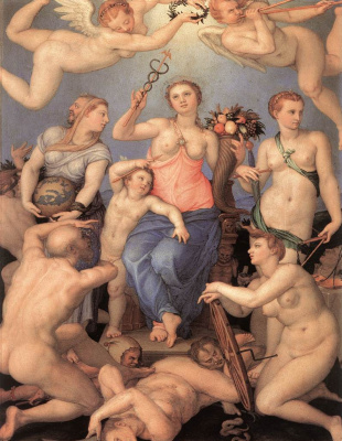 Agnolo Bronzino. Allegory of Happiness