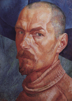 Kuzma Sergeevich Petrov-Vodkin. Self-portrait