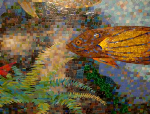 Дмитрий Владимирович Аверьянов. Фрагмент мозаики в частном отеле