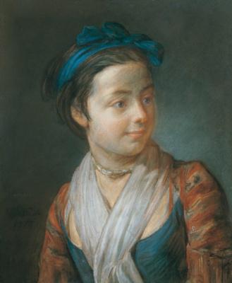 Жан Батист Симеон Шарден. Портрет девушки