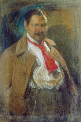 Абрам Ефимович Архипов. Портрет Василия Федоровича Пырикова