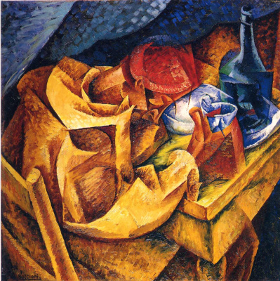Umberto Boccioni. Plot 40