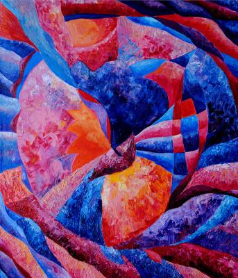 "Irina Shumskaya. Painting ""Feelings and Freedom"" Irina SHUMSKAYA"