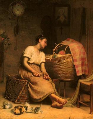 Пол Пил. Материнская любовь